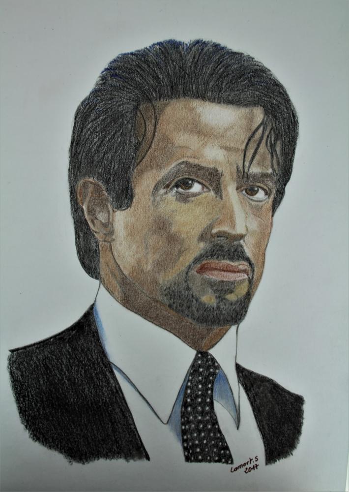 Sylvester Stallone by kornog